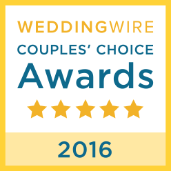 Wedding Wire Couples' Choice Award. We Rock!